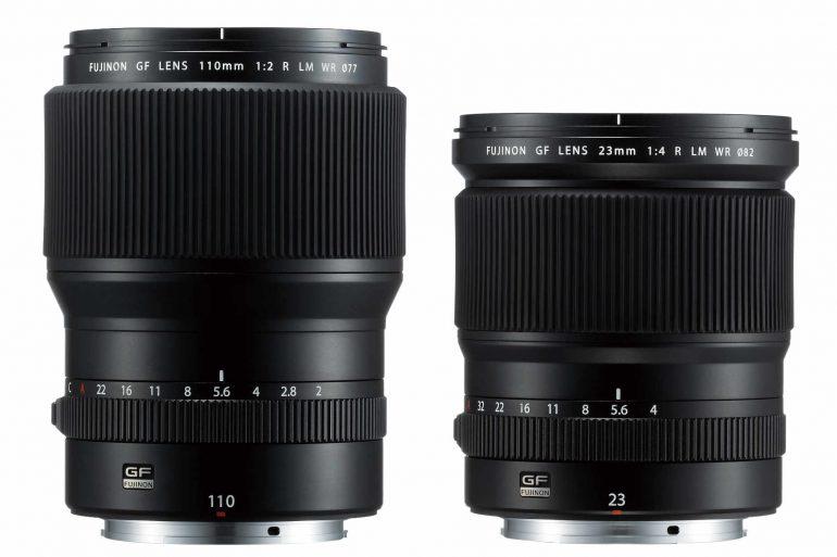 New Fujifilm GF Lenses Banner