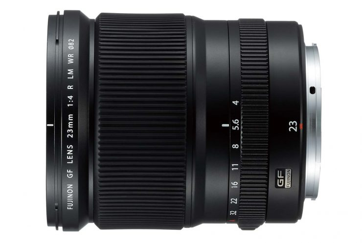 The Fujinon GF 23mm f/4 LM WR Lens
