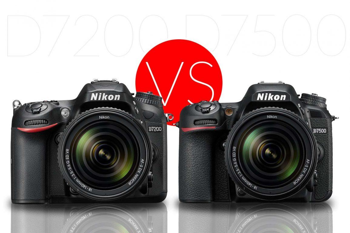 Nikon D7200 vs D7500 Banner
