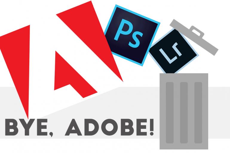 Goodbye Adobe Banner