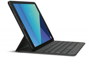 keyboard attached to the Samsung Tab S3 10