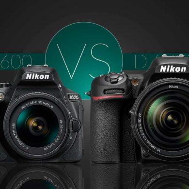 Nikon D5600 vs D7500 Banner