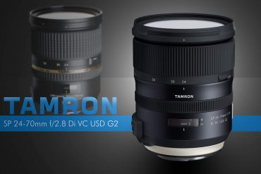 Tamron Announces SP 24-70mm f/2.8 Di VC USD G2 with Better Stabilization and Autofocus