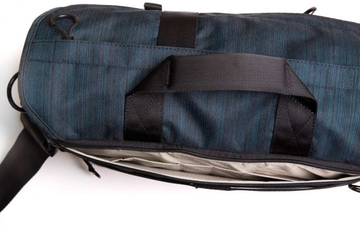 Laptop Sleeve Pockets, top view