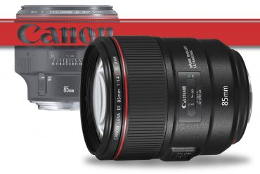 Canon Announces 85mm f/1.4 and Three Tilt-Shift Lenses