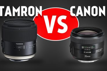 Lens Comparison: Tamron 35mm f/1.8 VC vs. Canon 35mm f/2 IS