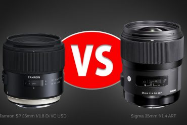 Lens Comparison: Tamron 35mm f/1.8 VC vs. Sigma 35mm f/1.4 ART