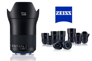 Zeiss Milvus 25mm f/1.4 Lens Announced