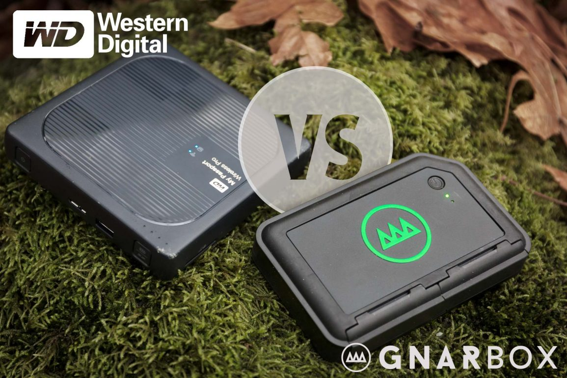 GNARBOX 256 vs WD My Passport Wireless Pro : Which is Best