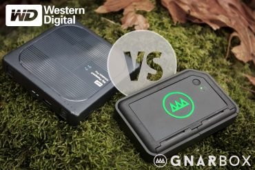 GNARBOX 256 vs WD My Passport Wireless Pro : Which is Best for Backup & Mobile Editing?