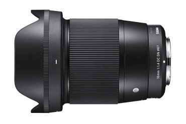 Sigma Announces Pricing for 16mm f/1.4 DC DN | C Lens