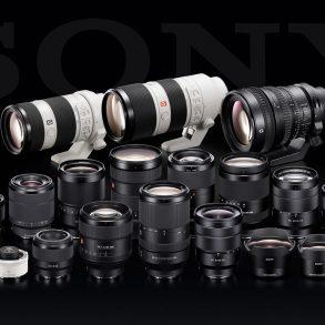 Sony's E-mount lenses