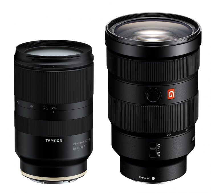 new tamron 28 75 f 2 8 lens their first for sony fe mount light and matter. Black Bedroom Furniture Sets. Home Design Ideas