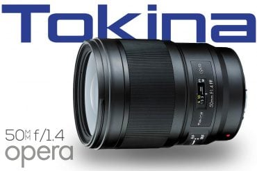 New : Tokina Opera 50mm f/1.4 Lens for Canon & Nikon