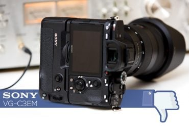 Sony's VG-C3EM Battery Grip: I'm Not Impressed