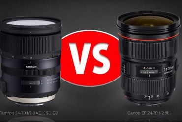 Lens Comparison: Tamron 24-70 f/2.8 G2 vs Canon 24-70 f/2.8L II
