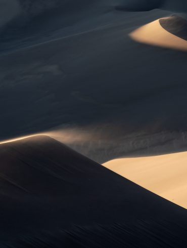 Light and Shadow in Great Sand Dunes National Park, Colorado