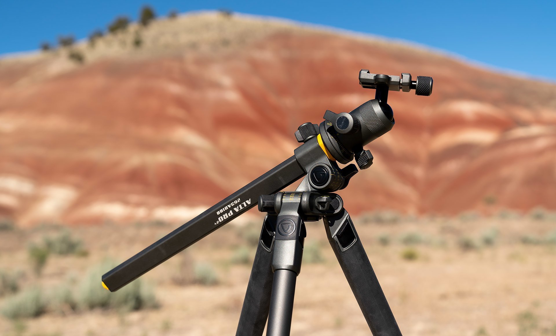 Vanguard Alta 2+ Tripod at the Painted Hills in Oregon