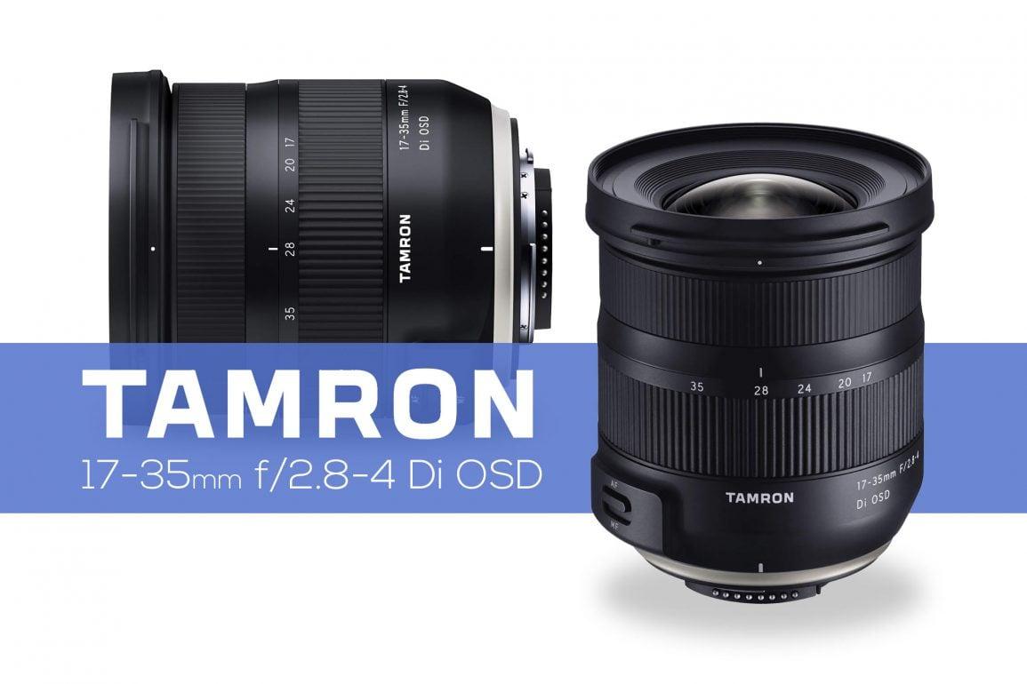 Tamron Announces 17 35mm F 2 8 4 Full Frame Lens Light