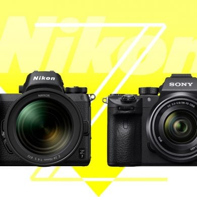 Nikon Z7 vs Sony A7RIII Banner