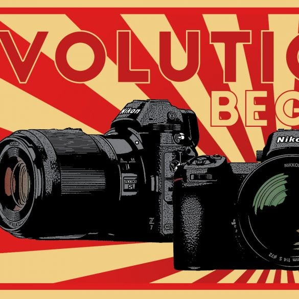 Nikon Z6 and Z7 Announcement Banner