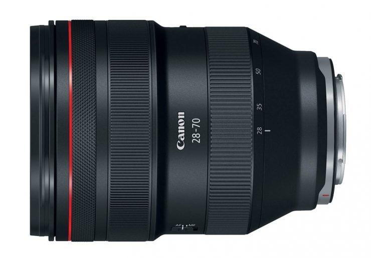 canon RF 28-70mm f/2 lens