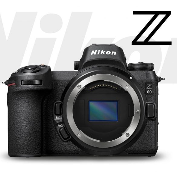 Artists's Rendering of Imaginary Nikon Z60 APS-C Camera