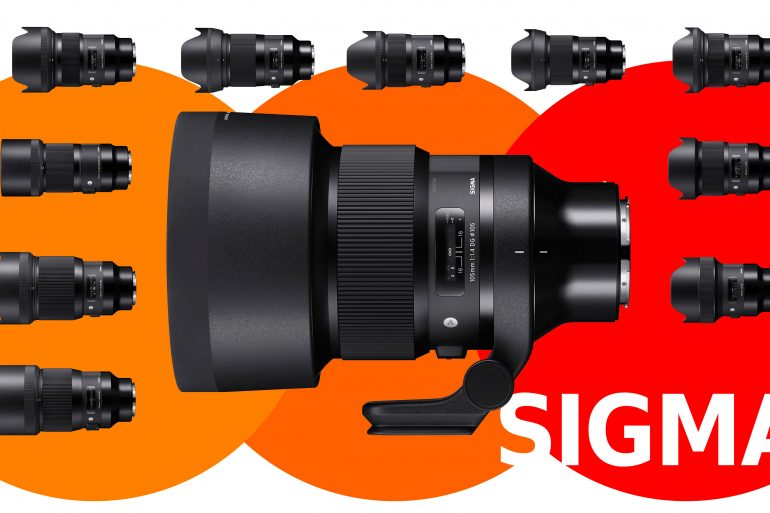 Sigma ART lenses in L-mount