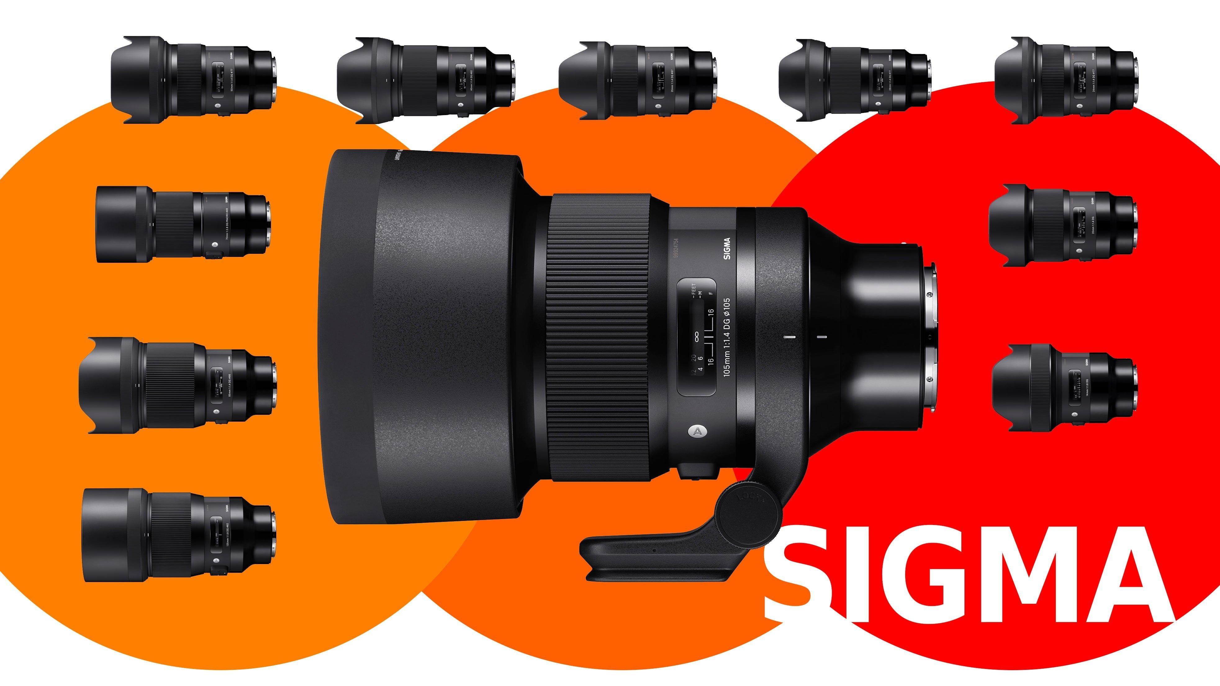 Sigma ART lenses in L-mount