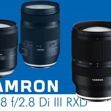Tamron 17-28mm f2.8 Di III RXD Banner