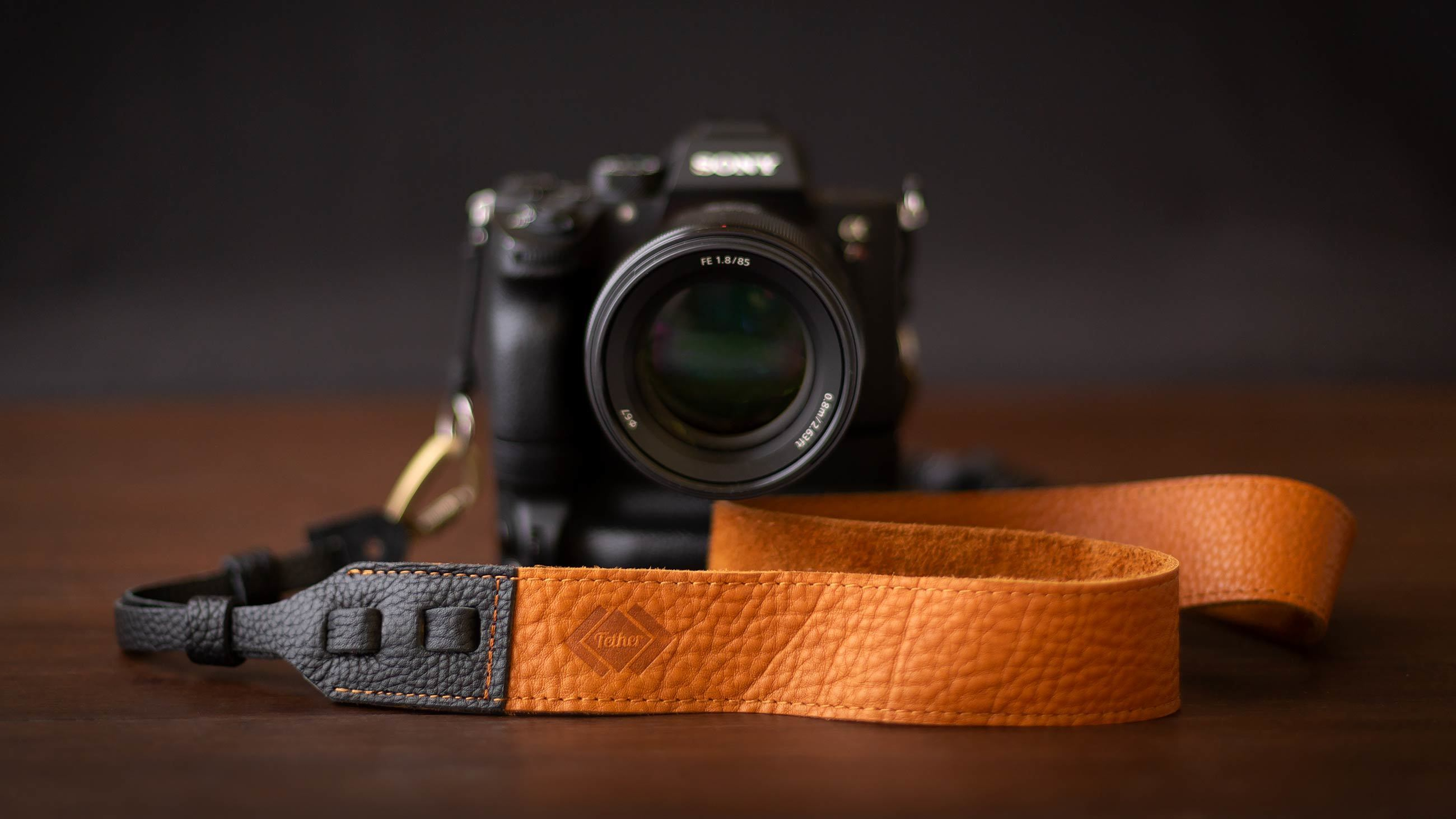 Tether Cross-Body Camera Strap