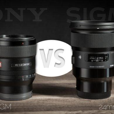 Sony 24mm f/1.4 GM lens vs Sigma 24mm f/1.4 ART Lens Comparison
