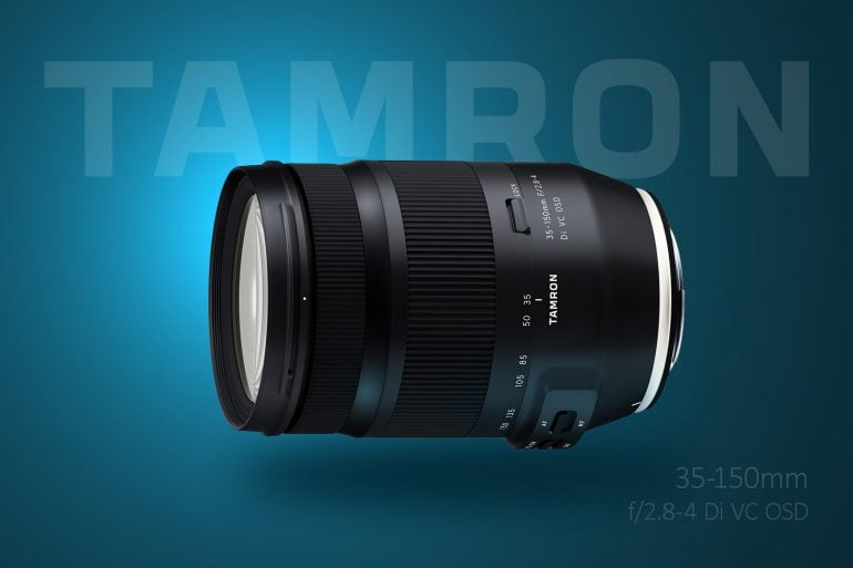 Tamron 35-150 f/2.8-4 Price announced