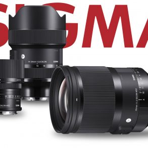 Three Sigma lenses and Sigma Logo