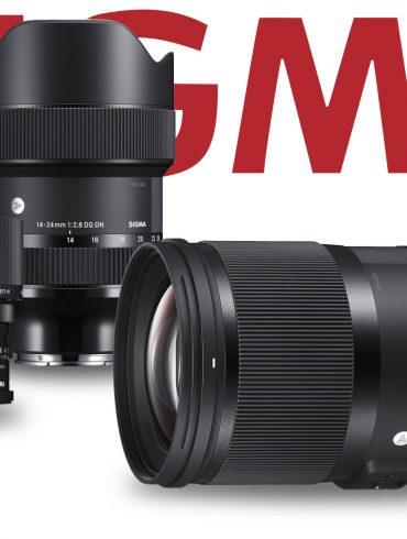 Three Sigma lenses and Sigma Logo
