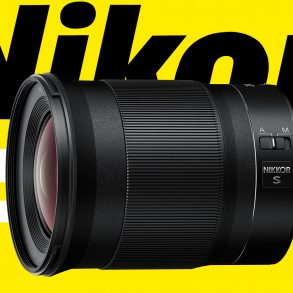 Nikon Z 24mm f/1.8 S lens product photo