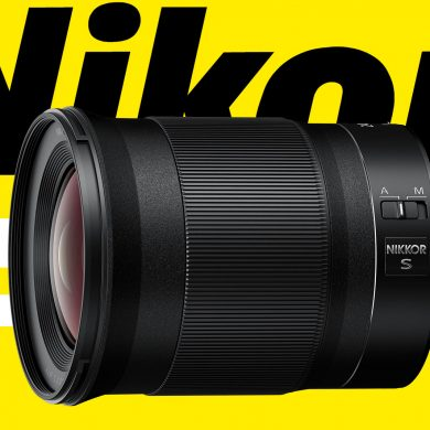 Nikon Z 24mm f/1.8 S lens product photo
