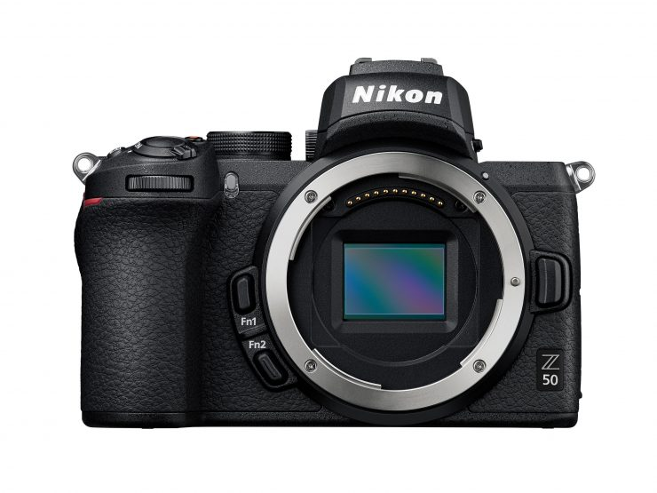 Product Image of Nikon Z50 front with no lens