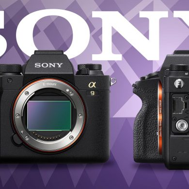 Sony Alpha 9 II Announcement Product Photo