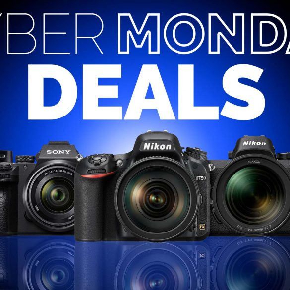 Cyber Monday Cameras Banner