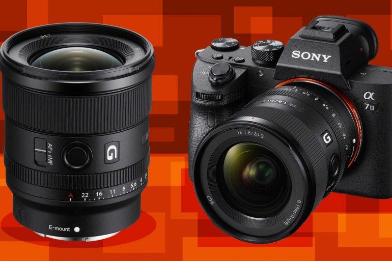 Sony FE 20mm f/1.8 G lens announced