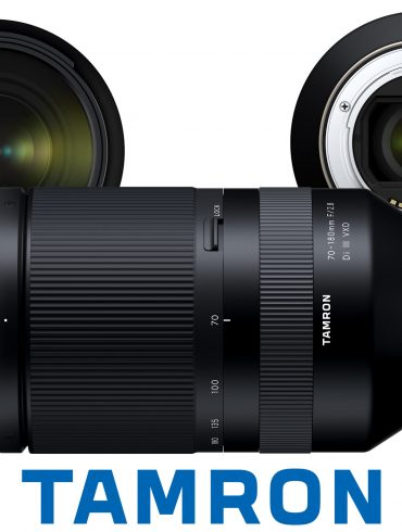 Tamron 70-180mm lens, front and back elements