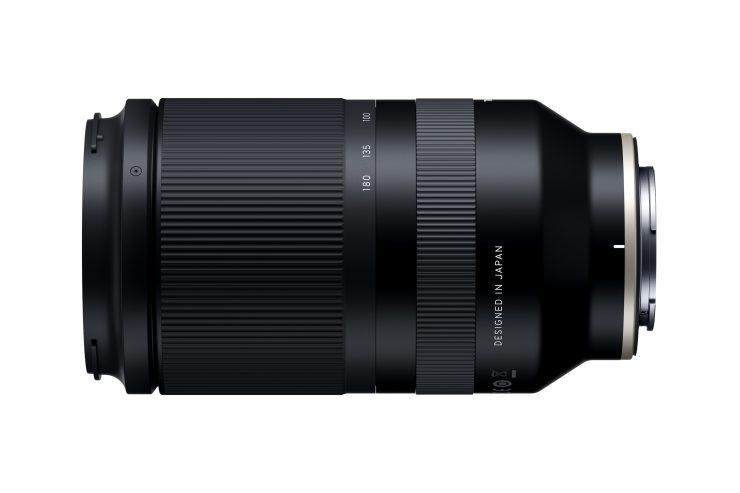 Tamron 70-180 f/2.8 Di VXD Lens Side View