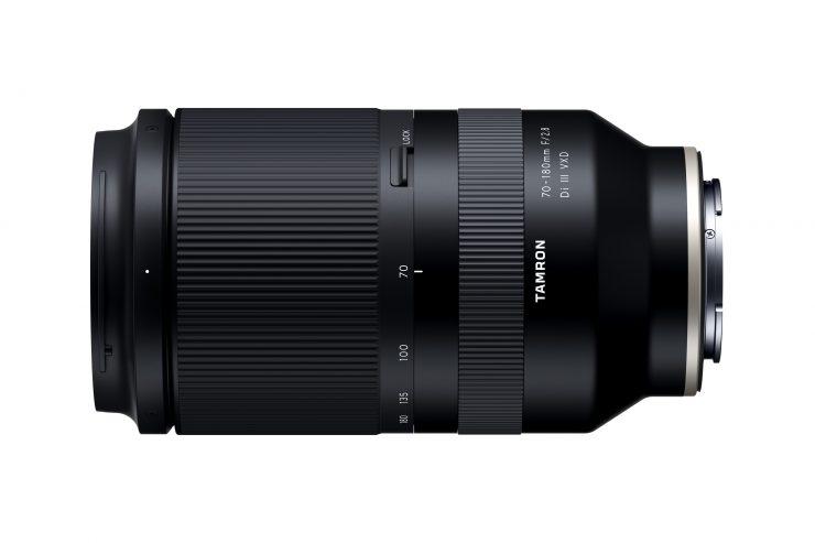 Tamron 70-180 f/2.8 Di VXD Lens Top View