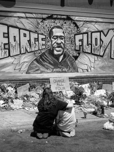 George Floyd Mourners