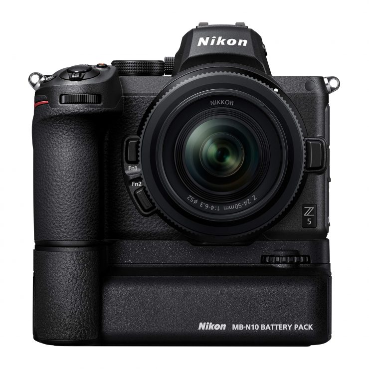 Nikon Z5 with battery grip