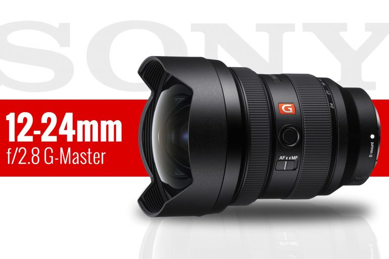 Sony 12-24mm f/2.8 GM product image banner