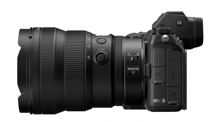 Nikon 14-24 f/2.8 on Z7 Body