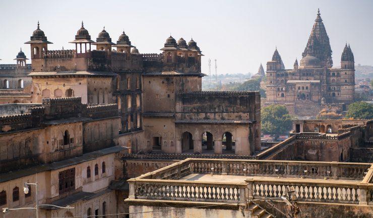 Orchha, India Overlook