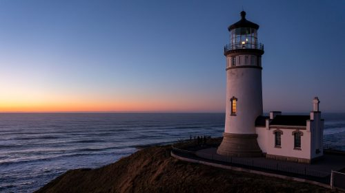 North Head Lighthouse at Cape Disappointment